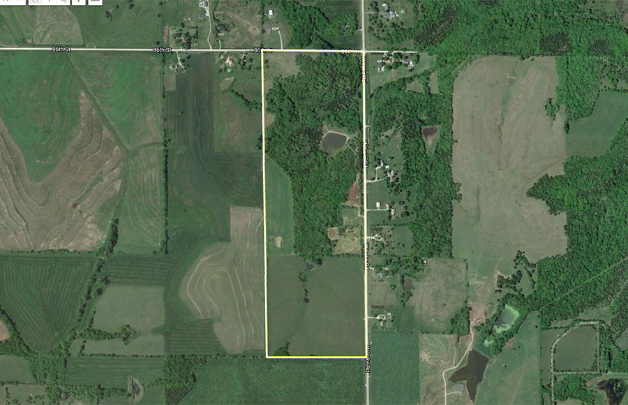 W Lake Rd Aerial